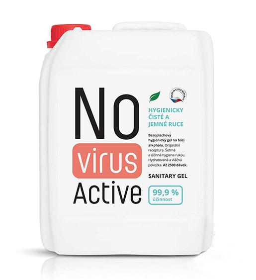 Dezinfekční gel a nápln-novirusactive