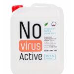 Dezinfekční stojan na ruce ukázka dezinfekce-novirusactive