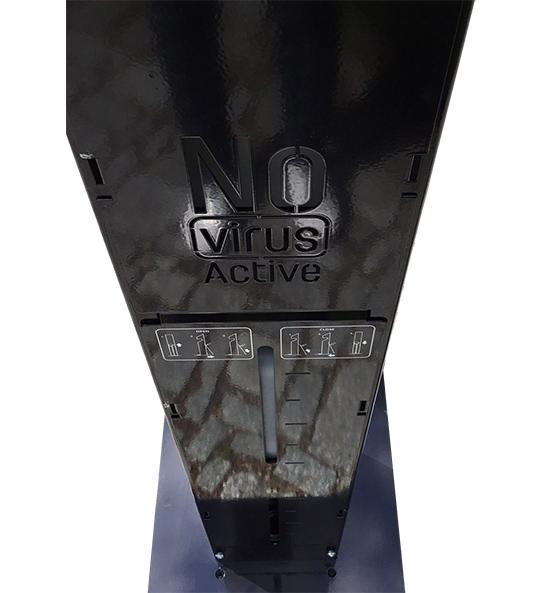 Dezinfekční nášlapný stojan NoVirusActive