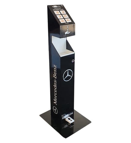 Nášlapný dezinfekční stojan NoVIrusActive - Mercedes