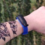 Fitness náramek BandPlus na dezinfekční gel